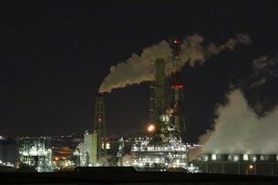 工場夜景の写真素材 [FYI00260756]