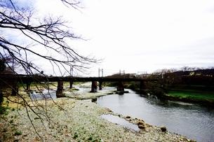 鉄橋の写真素材 [FYI00260772]