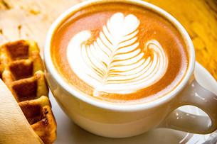 latte artの写真素材 [FYI00260792]