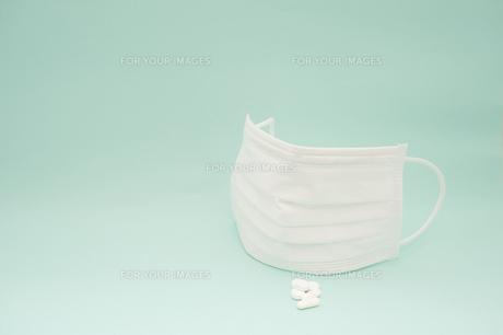 花粉症マスクの写真素材 [FYI00261034]