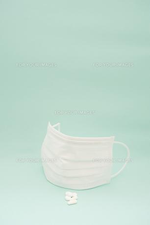 花粉症マスクの写真素材 [FYI00261044]