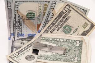 ドル紙幣の写真素材 [FYI00261051]