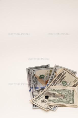 ドル紙幣の写真素材 [FYI00261063]