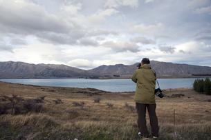 ニュージーランド 南島 ギャマック プカキ湖 の写真素材 [FYI00261111]