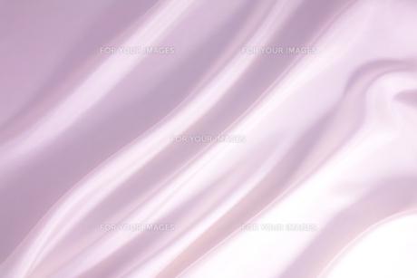 背景素材 ピンク色 光沢布地ドレープの写真素材 [FYI00261159]