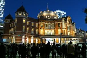 東京駅の写真素材 [FYI00261178]