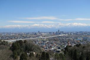 春の立山連邦の写真素材 [FYI00261223]