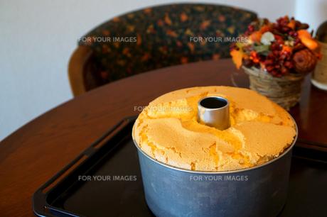 シフォンケーキの写真素材 [FYI00261371]