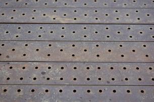 鉄板のバックグラウンドの写真素材 [FYI00261540]