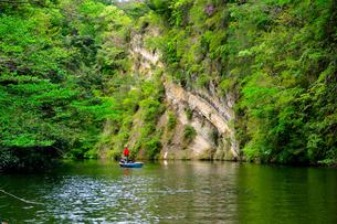 豊英ダムの自然の写真素材 [FYI00261558]