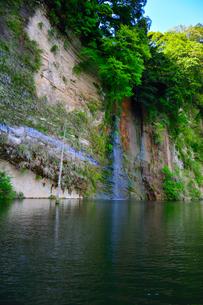 豊英ダムの自然の写真素材 [FYI00261584]