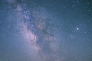 銀河中心の写真素材 [FYI00261720]