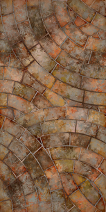 床 レンガ フカン ループの写真素材 [FYI00262045]