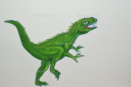 走っている恐竜の写真素材 [FYI00262232]