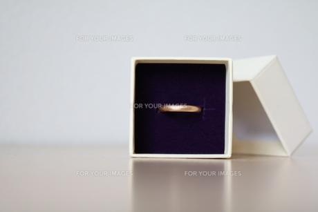 結婚指輪の写真素材 [FYI00262534]