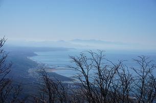 弥彦山頂より日本海を望むの写真素材 [FYI00262786]