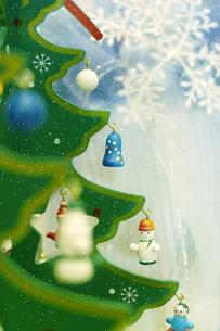 クリスマスの飾りの写真素材 [FYI00262796]