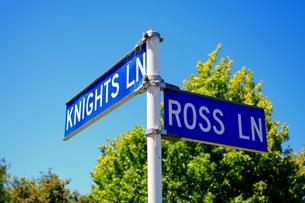 ニュージーランド標識の写真素材 [FYI00262837]
