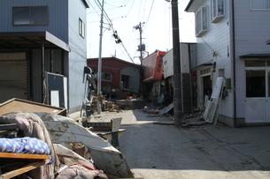 石巻 震災の記録の写真素材 [FYI00262991]