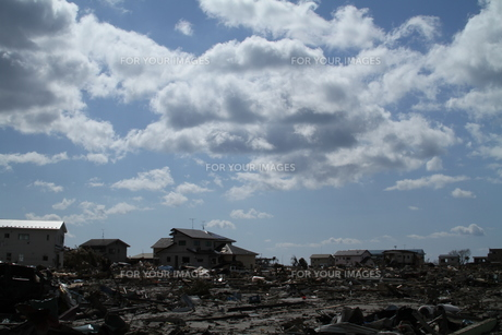 石巻 震災の記録の素材 [FYI00262992]