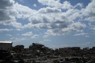 石巻 震災の記録の写真素材 [FYI00262992]
