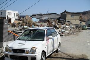 石巻 震災の記録の写真素材 [FYI00262993]