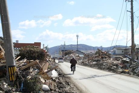 石巻 震災の記録の素材 [FYI00262996]