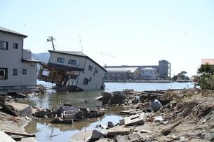 石巻 震災の記録の写真素材 [FYI00263005]
