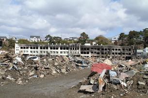 石巻 震災の記録の写真素材 [FYI00263007]