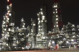 神栖の工場夜景の写真素材 [FYI00263009]