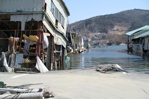 石巻 震災の記録の写真素材 [FYI00263013]