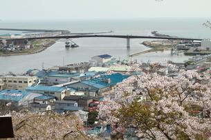 石巻 日和山から〜震災前の写真素材 [FYI00263016]
