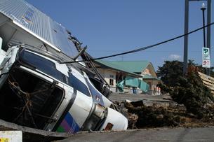 石巻 震災の記録の写真素材 [FYI00263018]