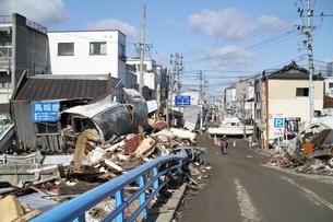 石巻 震災の記録の写真素材 [FYI00263022]