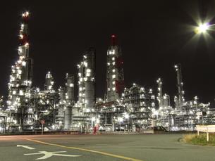 神栖の工場夜景の写真素材 [FYI00263036]