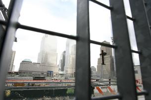 ニューヨーク、グラウンドゼロの風景、横写真の写真素材 [FYI00263118]