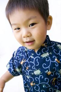 甚平を着た子供の写真素材 [FYI00263229]