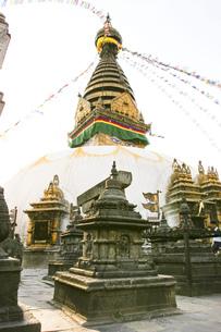 チベットの寺院の写真素材 [FYI00263376]
