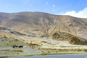 チベットの風景の写真素材 [FYI00263386]