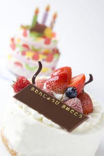 バースデーケーキの写真素材 [FYI00263399]