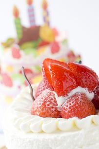 バースデーケーキの写真素材 [FYI00263412]
