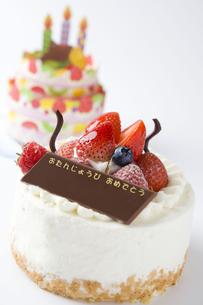 バースデーケーキの写真素材 [FYI00263415]