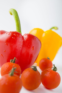 パプリカとトマトの写真素材 [FYI00263554]