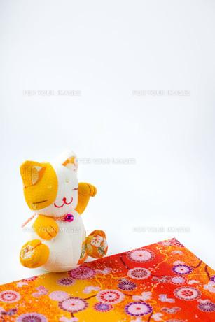 招き猫の写真素材 [FYI00263562]