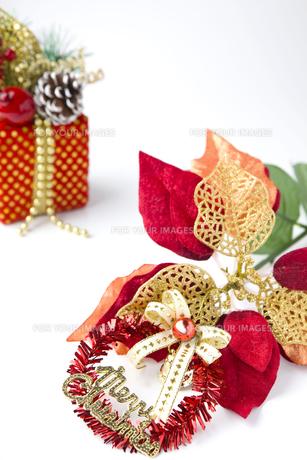クリスマスの飾りの写真素材 [FYI00263581]