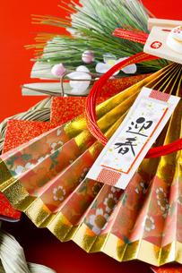 正月のしめ縄飾りの写真素材 [FYI00263638]