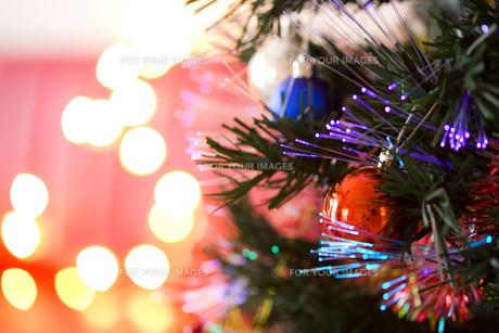 クリスマスデコレーションの写真素材 [FYI00263658]