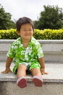 タイにいる男の子の写真素材 [FYI00263970]