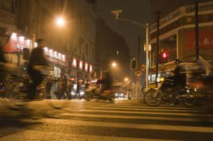 上海の通勤風景の写真素材 [FYI00264099]