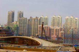 上海の開発の写真素材 [FYI00264124]
